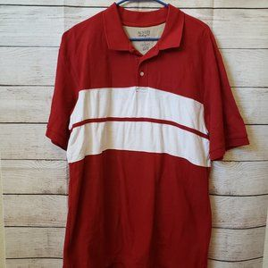 Austin Clothing Company Polo Red Large